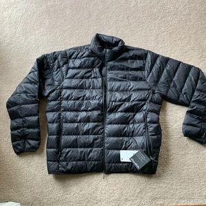 NWT men's puffer coat Eddie Bauer size XL
